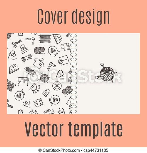 Decke, nähen, design, muster. Pattern., nähen, decke, abbildung ...