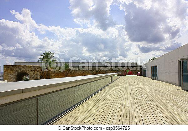 decking, moderno, zona - csp3564725