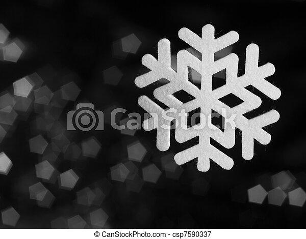 deco snowflake - csp7590337