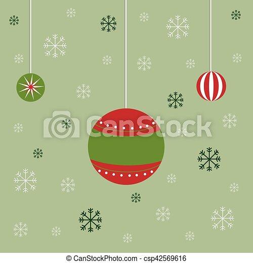 Decoración navideña - csp42569616