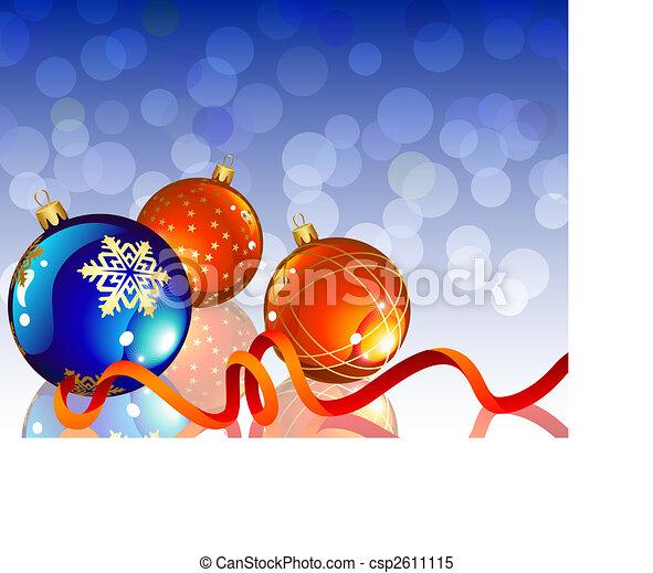 Decoración navideña - csp2611115