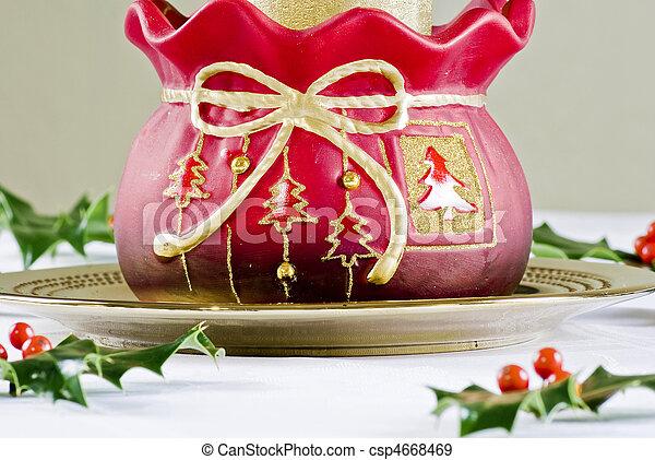 Decoración navideña - csp4668469