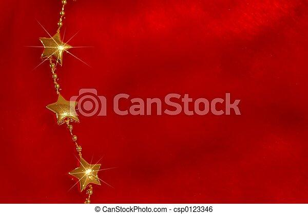 Decoración navideña - csp0123346