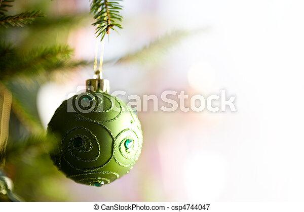 Decoración navideña - csp4744047