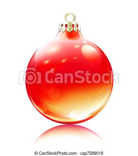 Decoración navideña - csp7589018