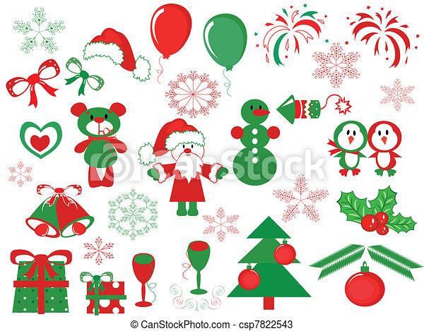 Decoración navideña - csp7822543