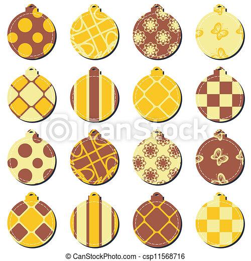 Bolas de decoración navideñas - csp11568716