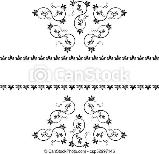 Decorate monogramme design rahmen Monogramme illustration Stunning Decorate Design