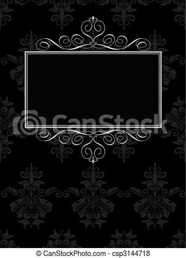 decoratief, achtergrond - csp3144718