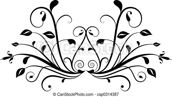decoratief element - csp0314387