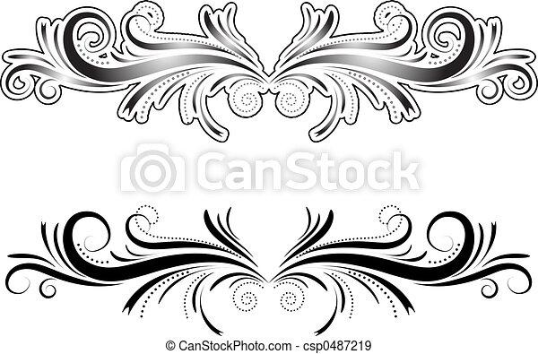decoratief element - csp0487219