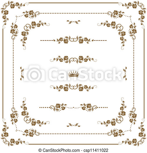 decoratief, frame - csp11411022
