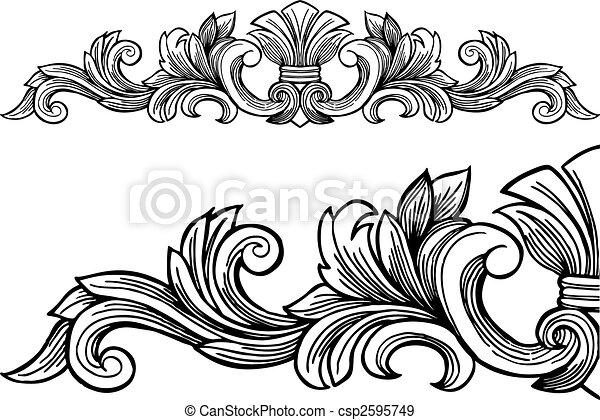 decoratief, frame - csp2595749