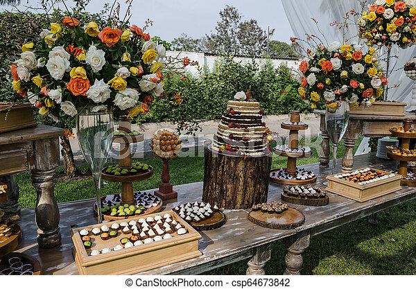 Decoration for Weddings - csp64673842