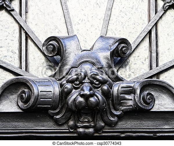 Decoration on a facade - csp30774343