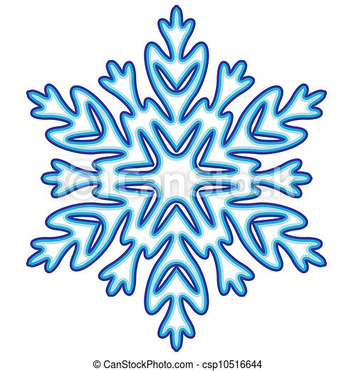decorative abstract snowflake vector illustration rh canstockphoto com snowflake vector clip art snowflake vector clip art