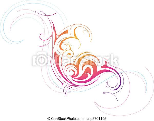 Decorative artwork - csp5701195