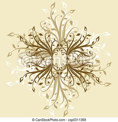 Decorative backgroun - csp0311369