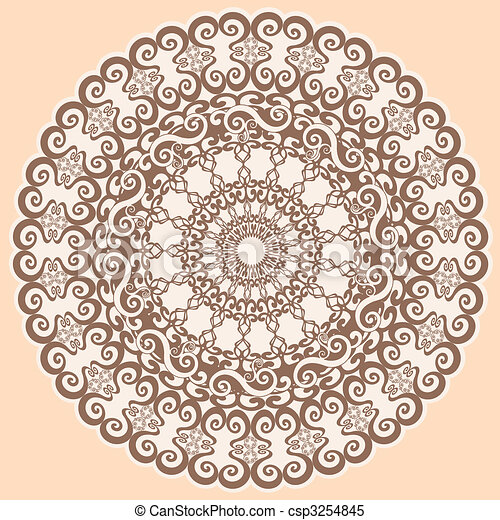 decorative background - csp3254845
