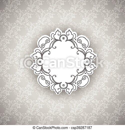 decorative background - csp39287187