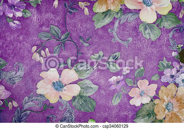 decorative background - csp34060129