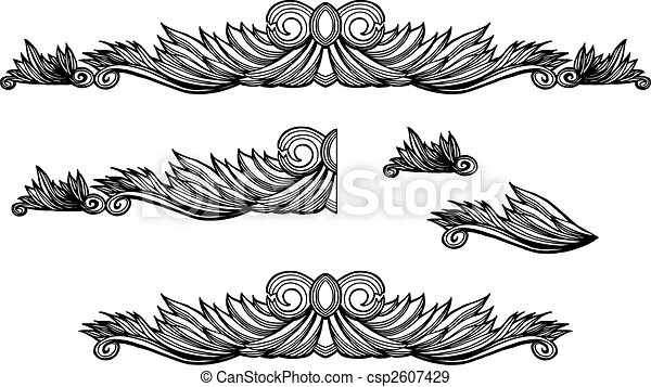 Decorative Border - csp2607429
