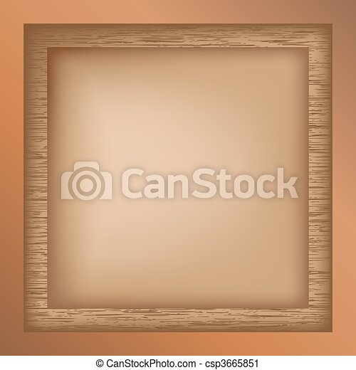 Decorative border - csp3665851