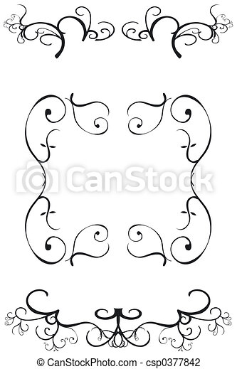 Decorative Borders - csp0377842