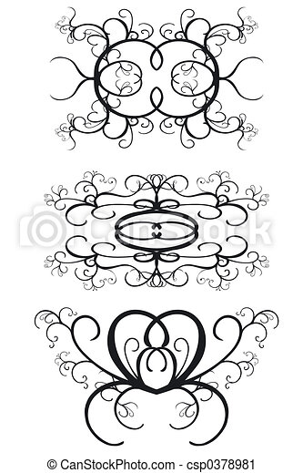 Decorative Borders - csp0378981