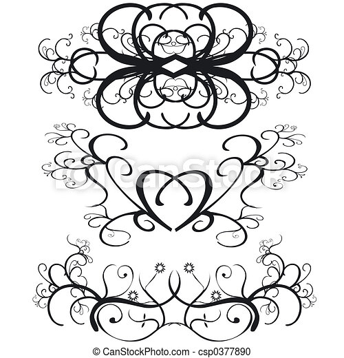 Decorative Borders - csp0377890