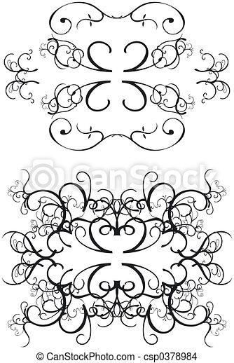 Decorative Borders - csp0378984
