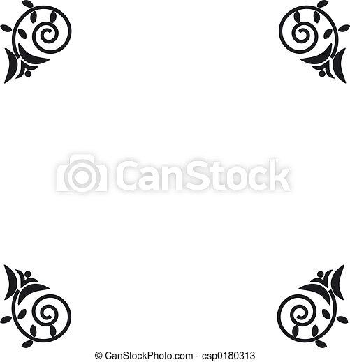 Decorative borders - csp0180313