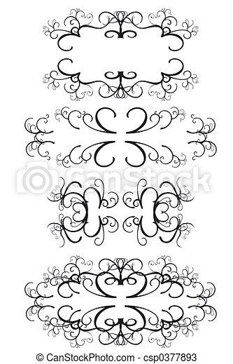 Decorative Borders - csp0377893