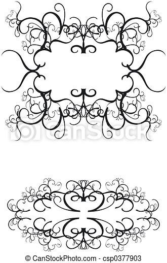 Decorative Borders - csp0377903