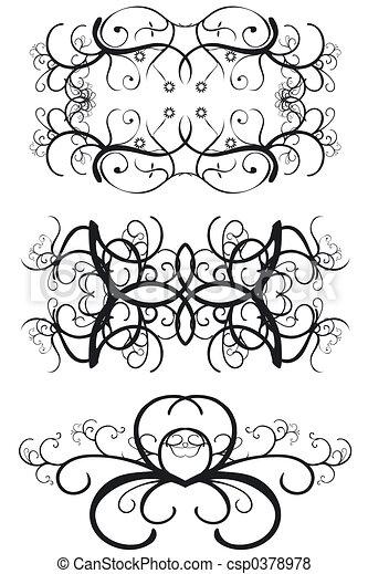 Decorative Borders - csp0378978
