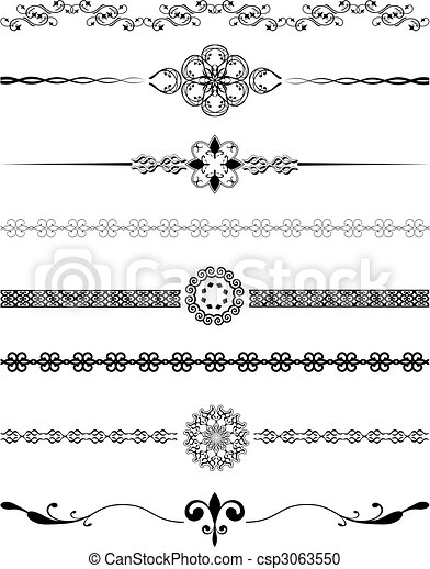 Decorative Borders Various Different Designs Of Decorative Borders Classy Decorative Designs For Borders