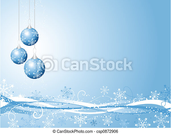 Decorative Christmas background - csp0872906