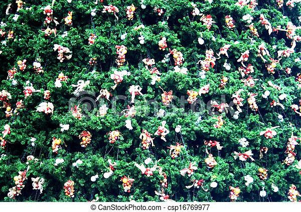 Decorative Christmas tree - csp16769977