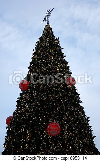 Decorative Christmas tree - csp16953114
