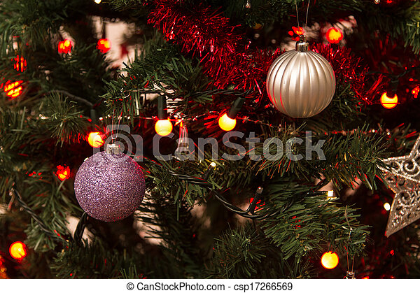 Decorative Christmas Tree - csp17266569
