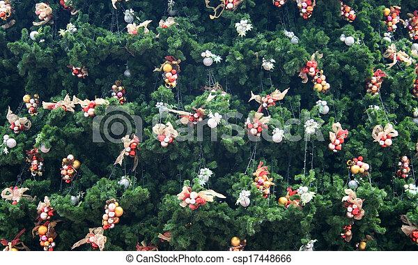 Decorative Christmas tree - csp17448666