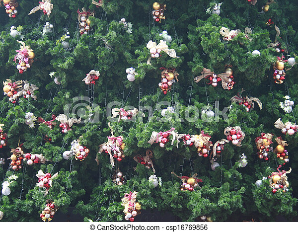 Decorative Christmas tree - csp16769856
