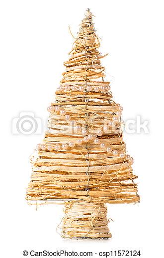 decorative christmas tree - csp11572124