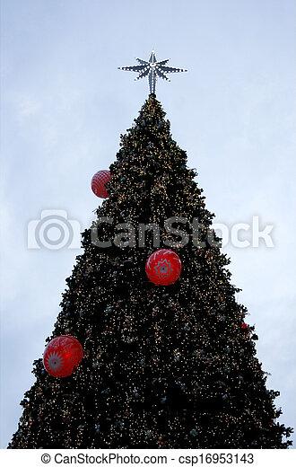 Decorative Christmas tree - csp16953143
