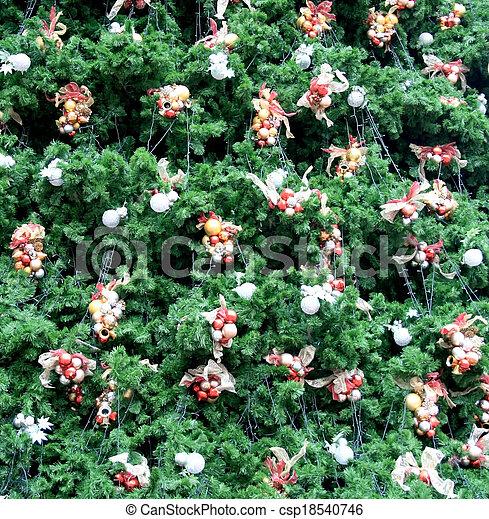 Decorative Christmas tree - csp18540746