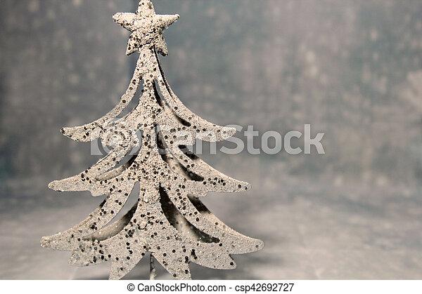 Decorative Christmas tree - csp42692727