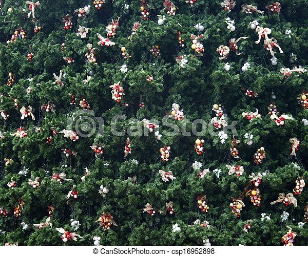 Decorative Christmas tree - csp16952898
