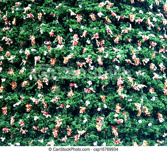 Decorative Christmas tree - csp16769934