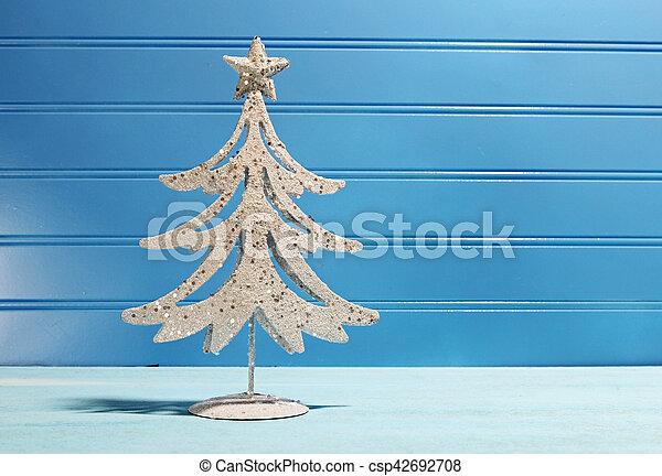 Decorative Chritmas tree - csp42692708