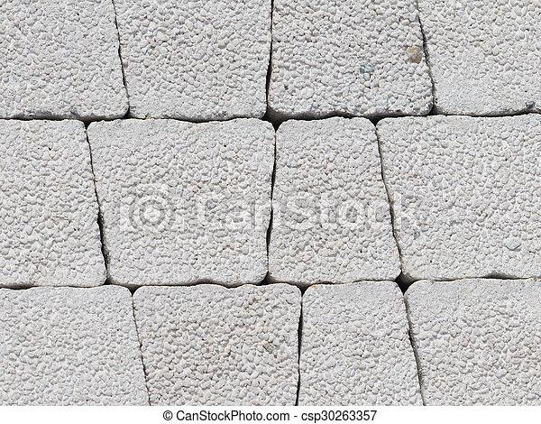 Decorative concrete blocks - csp30263357